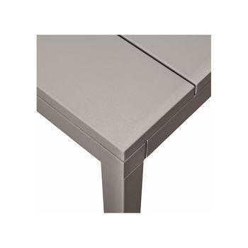 Стол раздвижной Nardi RIO 140 EXTENSIBLE TORTORA vern. Tortora 48359.10.000 (Стол раздвижной для сада и террасы)