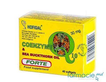 купить Coenzima Q10 30mg caps. N40 (Hofigal) в Кишинёве