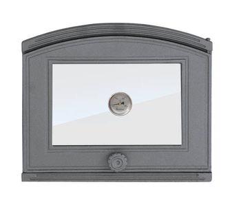 купить Дверца чугунная со стеклом и термометром правая DP2T в Кишинёве