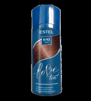 Оттеночный бальзам, ESTEL Love Ton, 150 мл., 6/43 - Коньяк