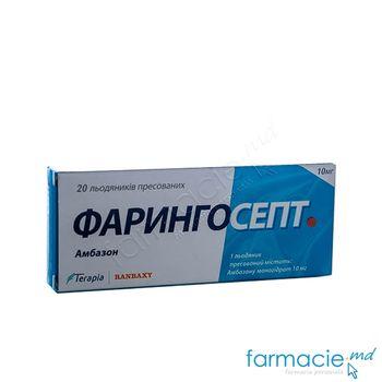 купить Faringosept comp. de supt 10 mg N20 в Кишинёве