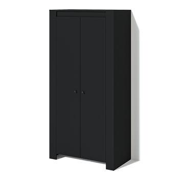 Шкаф платяной Belfort Чёрный ясень