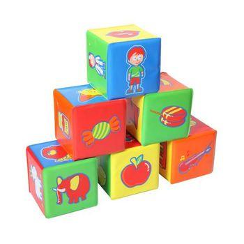 """BabyOno Игрушка """"6 Кубиков мягких"""""""