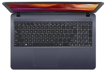 купить Laptop Asus X543MA, 15.6 HD Celeron N4000, 4GB, SSD 256 GB, Intel UHD 600, no DVD, no LAN, VGA webcam, SD card reader, WLAN 802.11ac, BT4.2, 2xUSB 2.0, 1xUSB-A 3.2, 1xHDMI, 1 x Audio combo jack, 33W, 1.9 kg, Star Grey в Кишинёве