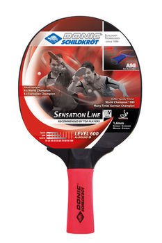 Ракетка для настольного тенниса Donic Sensation 600 / 724402, 1.6 mm (Anti Shock Grip) (3205)