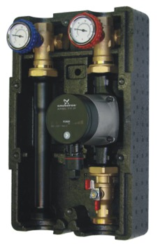 купить Насосная группа SA - 125 (насос Grundfos  UPS 25-55) в Кишинёве