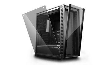купить Case ATX Deepcool MATREXX 70, w/o PSU, 1x120mm fan, 2×USB3.0/1×USB2.0, Tempered Glas, Black в Кишинёве