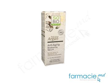купить So Bio Argan Serum pt fata Anti Age,Radiance+H.A (toate tip) 30ml в Кишинёве