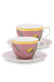 купить Чайный набор: La Majorelle Pink в Кишинёве