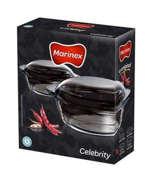 Набор посуды/термо-стекло MARINEX NR-6728/939 (набор/2,3+ 2,8 л)