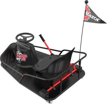 Электро карт Razor Ride-On Crazy Cart XL, Black