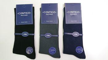 Contigo носки класические средней толщины