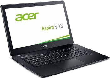 """ACER 13.3"""" ACER Aspire V3-372 Black (NX.G7BEU.006) IPS FullHD (Intel® Core™ i5-6200U 2.30-2.80GHz (Skylake), 8Gb DDR3 RAM, 1.0TB HDD, Intel® HD Graphics 520, CardReader, WiFi-AC/BT4.0, 4cell, HD Webcam, RUS, Linux, 1.6kg)"""