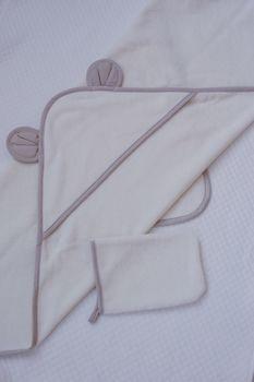 Полотенце с варежкой Special Baby