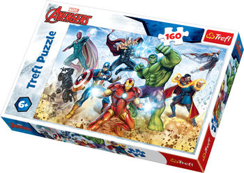 "Пазлы ""160"" - ""Ready to save the world / Disney Marvel The Avengers"", код 42170"