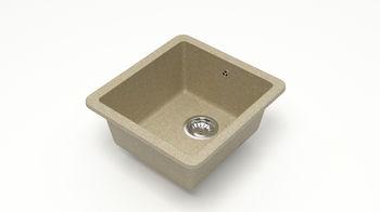 купить Матовые кухонные мойки из литьевого мрамора  (песочный.)  F027Q5 в Кишинёве