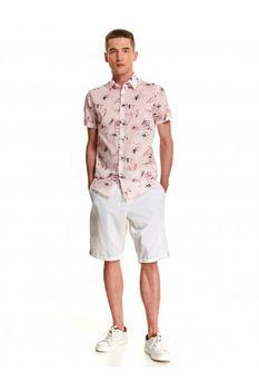 Рубашка TOP SECRET Светло розовый с принтом sks1057jr.
