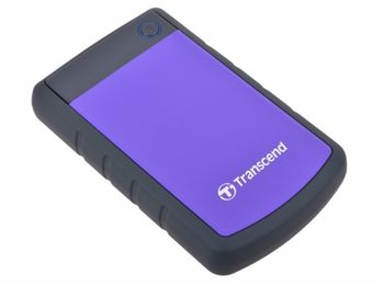 "4.0TB (USB3.1) 2.5"" Transcend ""StoreJet 25H3P"", Purple"