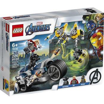 LEGO Marvel Мстители:  Atac pe bicicleta sportivă, artă. 76142