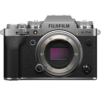 Fujifilm X-T4 silver body, Mirrorless Digital Camera Fujifilm X System (Aparat fotografic)