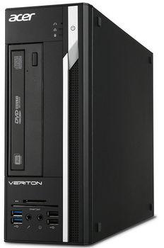 купить Acer Veriton X2640G (DT.VN5ME.024) Intel® Pentium® G4400 3.3 GHz, 4Gb DDR4 RAM, 1TB HDD, Intel® HD 510 Graphics, Win7+Win10 Pro Dual Load RU, DVI, VGA, COM-port, USB KB/MS, Black, 3 Year Warranty в Кишинёве