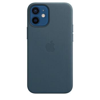 купить Apple Original Leather Case Iphone 12 / iPhone 12 Pro with MagSafe, Baltic Blue в Кишинёве