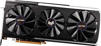 Sapphire NITRO+ Radeon RX 5700 XT 8GB GDDR6 256Bit 2010/14000Mhz, 2xHDMI, 2xDP, Stream Processors: 2560, RDNA Architecture, 2nd Gen 7nm GPU, PCIe4.0 Support, IFC IV, Tri-X Cooling, Triple Fan, Metal Backplate, Two-Ball Bearing, Full Retail