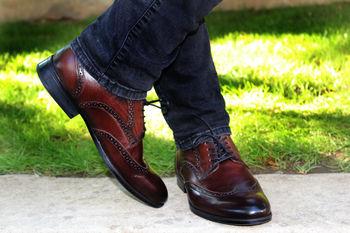 Pantofi barbatesti maro