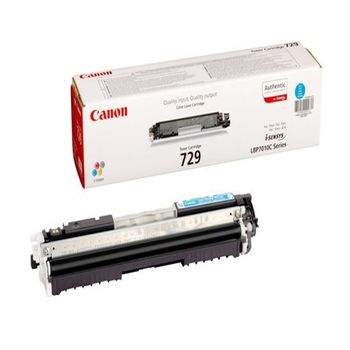Cartridge Canon 729 Cyan(1500 pages) for LBP-5050/5050N, MF8030Cn/8050Cn/8080Cw