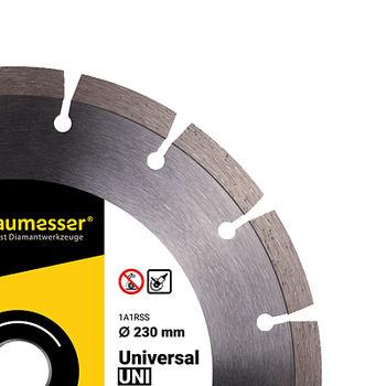 купить 1A1RSS/C3-H 230x2,4/1,6x10x22,23-16 Baumesser Universal в Кишинёве