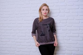 купить Блузка Simona ID 9522 в Кишинёве