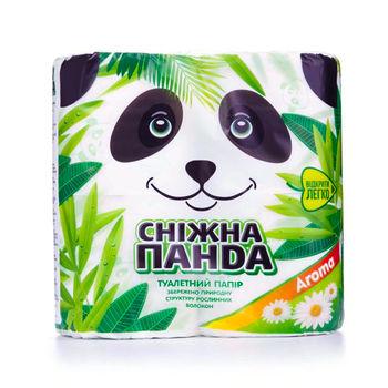 Туалетная бумага Panda Aroma 8 рулонов