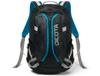 "Dicota D31047 Backpack Active black/blue 14""-15.6"", Premium notebook backpack with a sporty design, (rucsac laptop/рюкзак для ноутбука)"