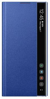 купить Чехол для моб.устройства Samsung Galaxy Note 10 Plus ,EF-ZN975 Clear View Cover Blue в Кишинёве