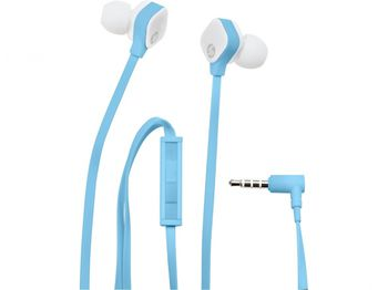 HP H2310 In-Ear stereo headset Sky blue