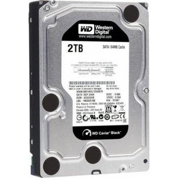 """2TB HDD 3.5"""" Western Digital WD2003FZEX Caviar® Black™, 7200rpm, 64Mb, SATA3"""