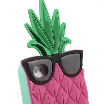 Чехол PINK для iPhone 4 / 4S силиконовый