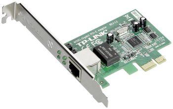 TP-LINK TG-3468, 32-bit Gigabit PCIe Network Interface Card, Realtek RTL8168B, 10/100/1000Mbps Auto-Negotiation RJ45 port, Auto MDI/MDIX