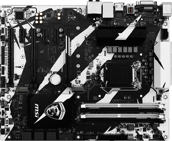 MSI B250 KRAIT GAMING, Socket 1151, Intel® B250, Dual 4xDDR4-2400, 3xPCIe X16, CPU Intel graphics, DVI, HDMI, 6xSATA3, 2xM.2 slot, 3xPCIe X1, ALC892 7.1ch HDA, GigabitLAN, 1xUSB3.1/Type-C, 1xUSB3.1 Gen 2, 6xUSB3.1, Mystic Light/White LED, MC 5, ATX