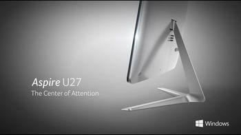 "купить All-in-One PC - 27"" Acer Aspire U27-880 FullHD Touch (DQ.B8RME.002) Intel® Core® i7-7500U up to 3,5 GHz, 16GB DDR4, 256GB SSD+2TB HDD, Card Reader, Intel® HD 620 Graphics, Wi-Fi, BT, GLAN, 90W PSU, Endless OS, Wireless KB/MS, Black/Silver в Кишинёве"
