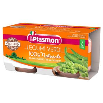 cumpără Plasmon Piure cu verzi legume ,+6 luni ,2x80g în Chișinău