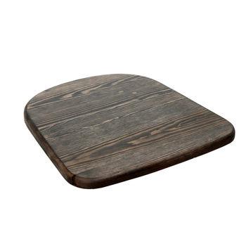 купить Сиденье деревянного стула, цвет грецкого ореха в Кишинёве