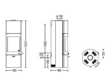 Каминная печь - AustroFlamm  Tower Xtra 2.0