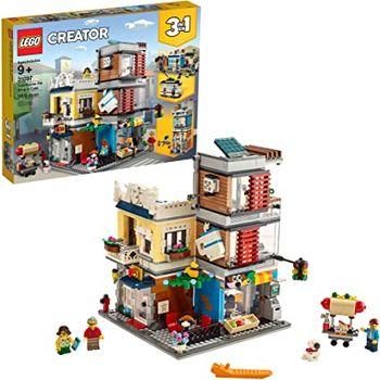"""LEGO Creator """"Зоомагазин и кафе в центре города"""", арт. 31097"""