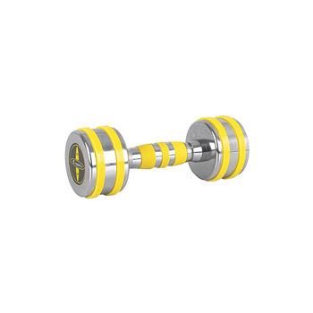 Гантель хромированная 5 кг inSPORTline Yellsteel 20835 (5214)