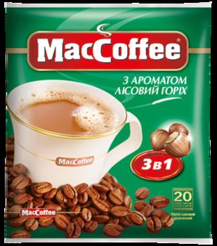 MacCoffee 3в1 Лесной Орех (20пак в упаковке)