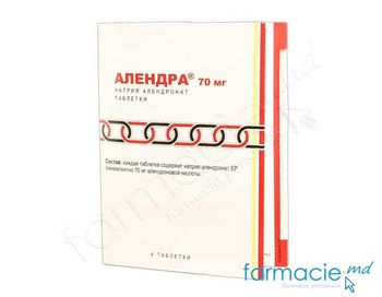 купить Алендра, табл.70 мг № 4 в Кишинёве
