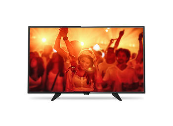 "cumpără ""32"""" LED TV Philips 32PFT4101/12, Black (1920x1080 FHD, PPI 200 Hz, DVB-T/T2/C) (32"""", 81 cm, Black, Full HD, PPI 200Hz, 2 HDMI, 1 USB  (foto, audio, video, USB recording), DVB-T/C,  Speakers 16W, 5 Kg, VESA 100x100)"" în Chișinău"