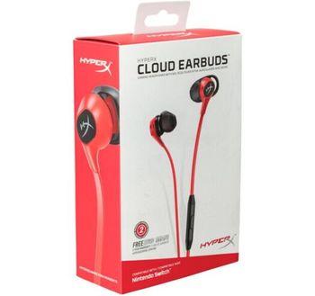 Наушники Gaming HyperX Cloud Earbuds, Red