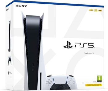 SONY PlayStation 5 + DualSens, White